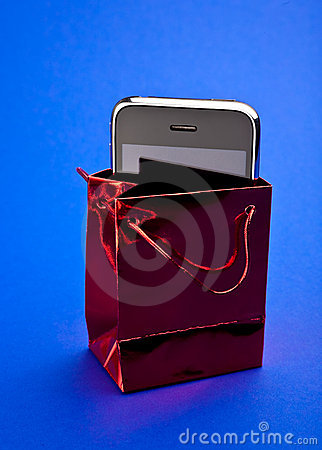 Phone in gift packet