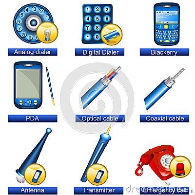 Phone icons 5