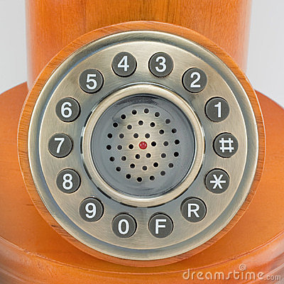 Phone with the old style