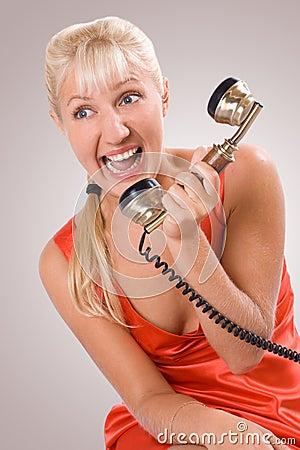 Phone quarrel. #1