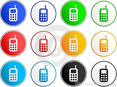 Phone sign icons