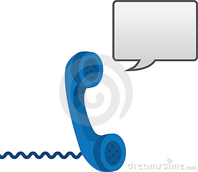 Phone with Speech Bubble