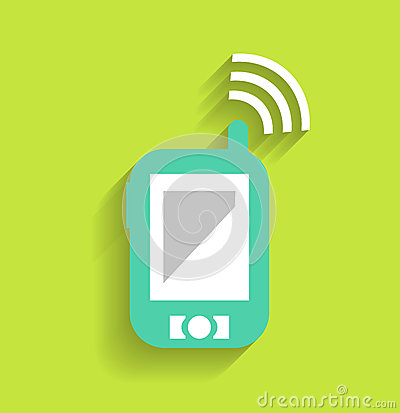 Phone / tablet communication icon