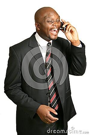 Phone talk.