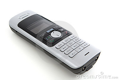 Phone on White