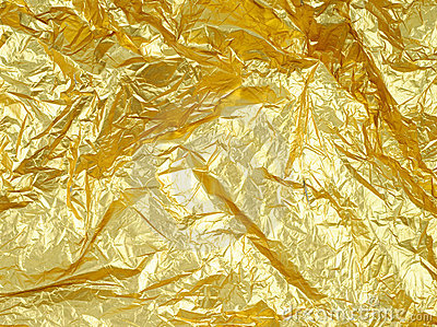 Photo of abstract golden grunge background