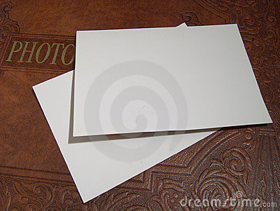 Photo Album With Blank Sheets