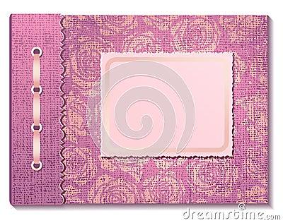 Photo album pink