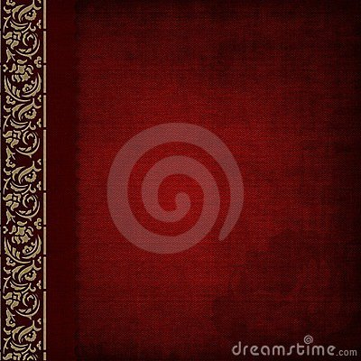 Photo album - red cover