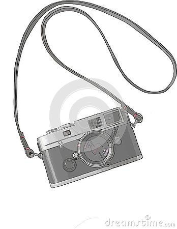 Free Photo Camera Vintage, Engraved Hand Drawn In Sketch Or Wood Cut Style, Old Looking Retro Lens, Isolated Vector Realistic. Object, Royalty Free Stock Image - 139360846