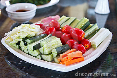 Photo of Chinese typical vegetable