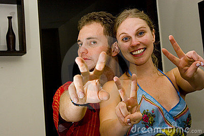 Photo of couple in love