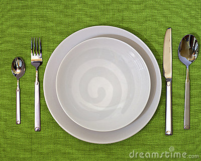 Photo of a Dinner Set