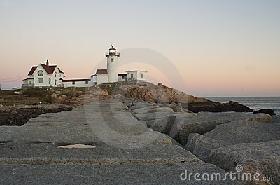 Photo of Eastern Point Lighthouse in New England