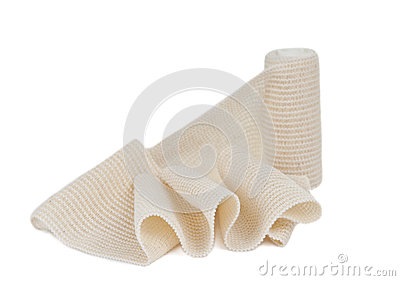 Photo of the elastic bandage