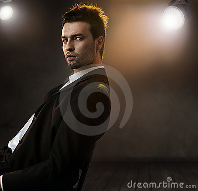 Photo of an elegant man