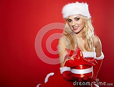 Photo of fashion Christmas girl