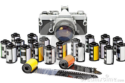 Photo film cartridges