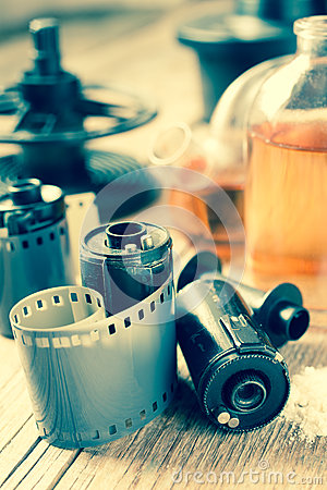 Free Photo Film Rolls, Cassette And Photographic Equipment Royalty Free Stock Photography - 51819387