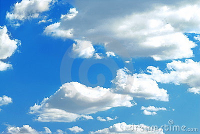 Photo of fluffy clouds