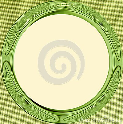 Photo Frame from an abstract symmetric colored