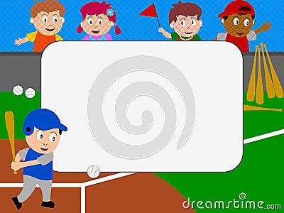 Photo Frame - Baseball