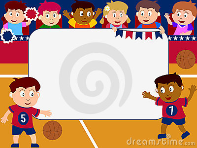 Photo Frame - Basketball
