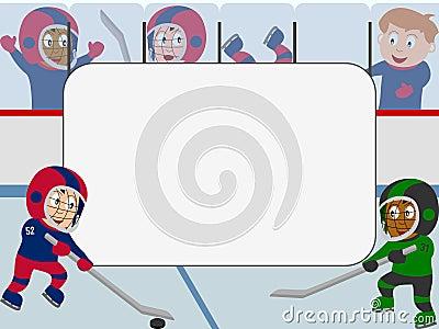 Photo Frame - Ice Hockey