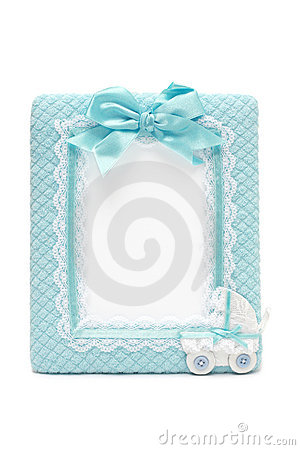 Photo frame for new born male