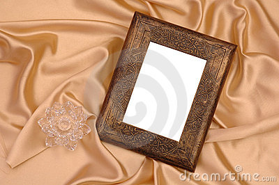 Photo Frame on Silk