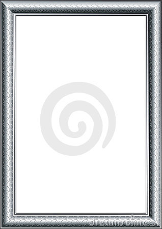 Free Photo Frame Silver Royalty Free Stock Photography - 14609617