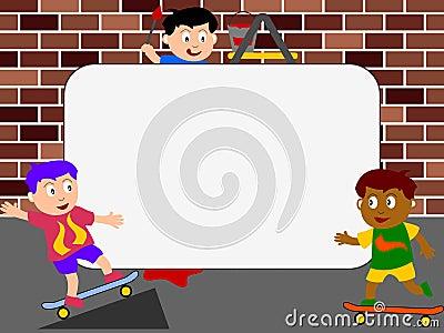 Photo Frame - Skateboard