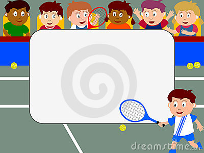 Photo Frame - Tennis