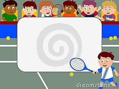 Photo Frame - Tennis