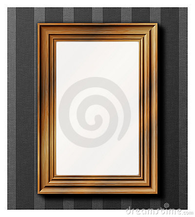Photo frame - wooden