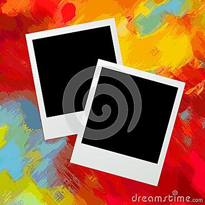Photo frames graphic