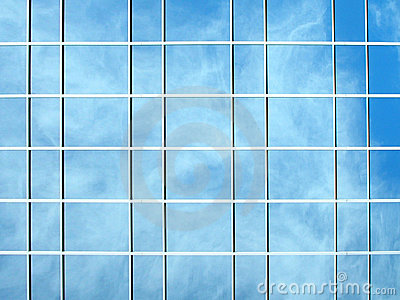 Photo of a glass building
