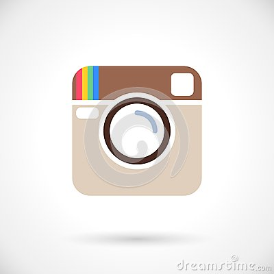 Free Photo Icon Royalty Free Stock Images - 44353269