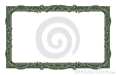Dollar Bills Border Clipart