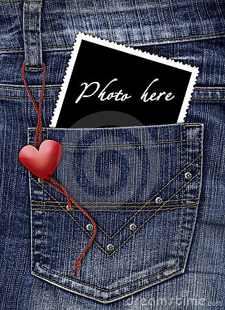 Free Photo In A Pocket Of Jeans Royalty Free Stock Photography - 3579477