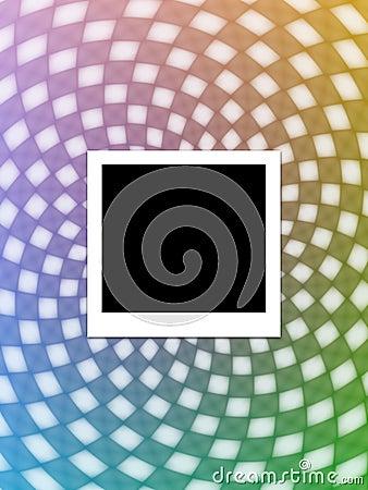 Photo instantanée sur l abstrait