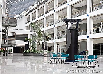 Photo of interior spaces