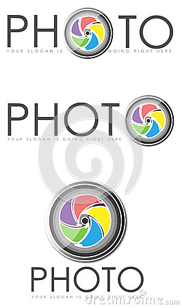 Photo logo illustrations