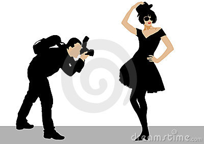 Photo man and model