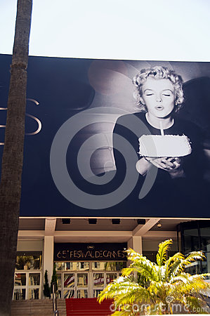 Photo Marilyn Monroe Cannes Festival Editorial Stock Image
