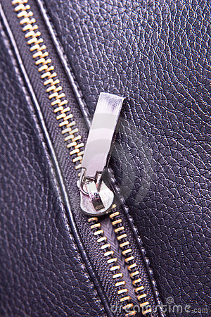 Photo metal zipper