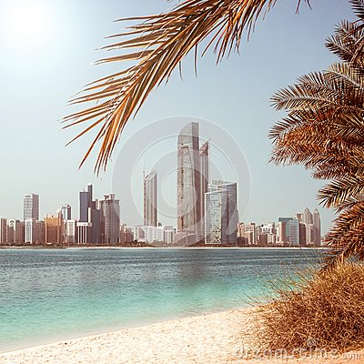 Photo metropolis on the gulf coast in Duba