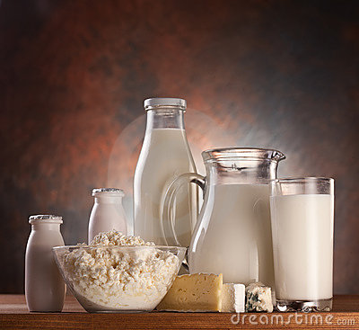 Free Photo Of Milk Products. Royalty Free Stock Photography - 17247767