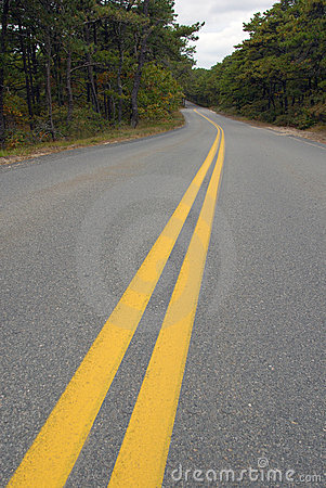 Free Photo Of Yellow Lines On Road Stock Photo - 13264640