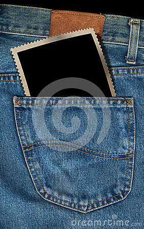 Photo in a Pocket of Blue Jeans
